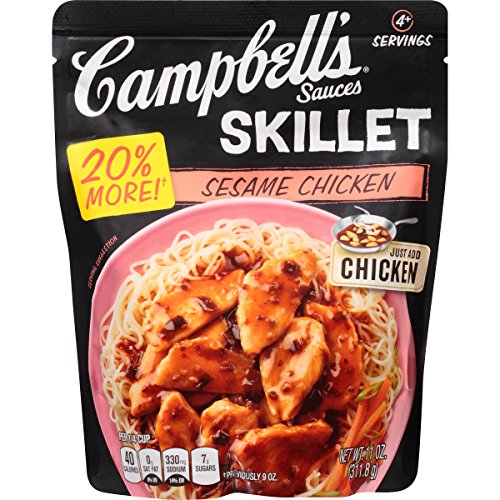 Campbell's Skillet Sauces, Sesame Chicken, 11 Ounce