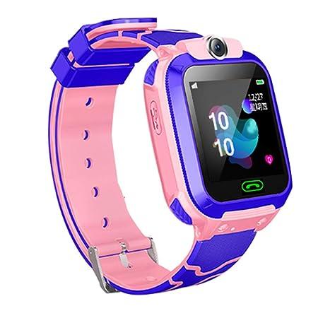 Hejia Kids Smart Watch Waterproof Smart Phone Child LBS Tracker ...