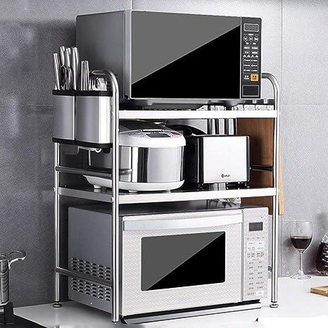 WYJW Cocina Microondas Horno Estante Estante Condimento ...
