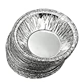 Healthcom 100/200/250 Pcs Disposable Aluminum Foil Baking Cookie Muffin Cupcake Egg Tart Mold Round Cake Cooking Tools Lined Mould Tin Baking Tool