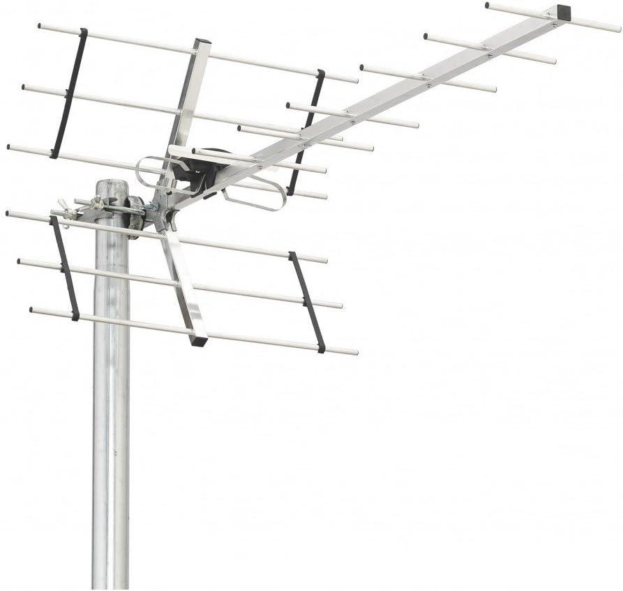 Triax Digi 14 Antena TDT UHF LTE 700 14 Eléments: Amazon.es ...