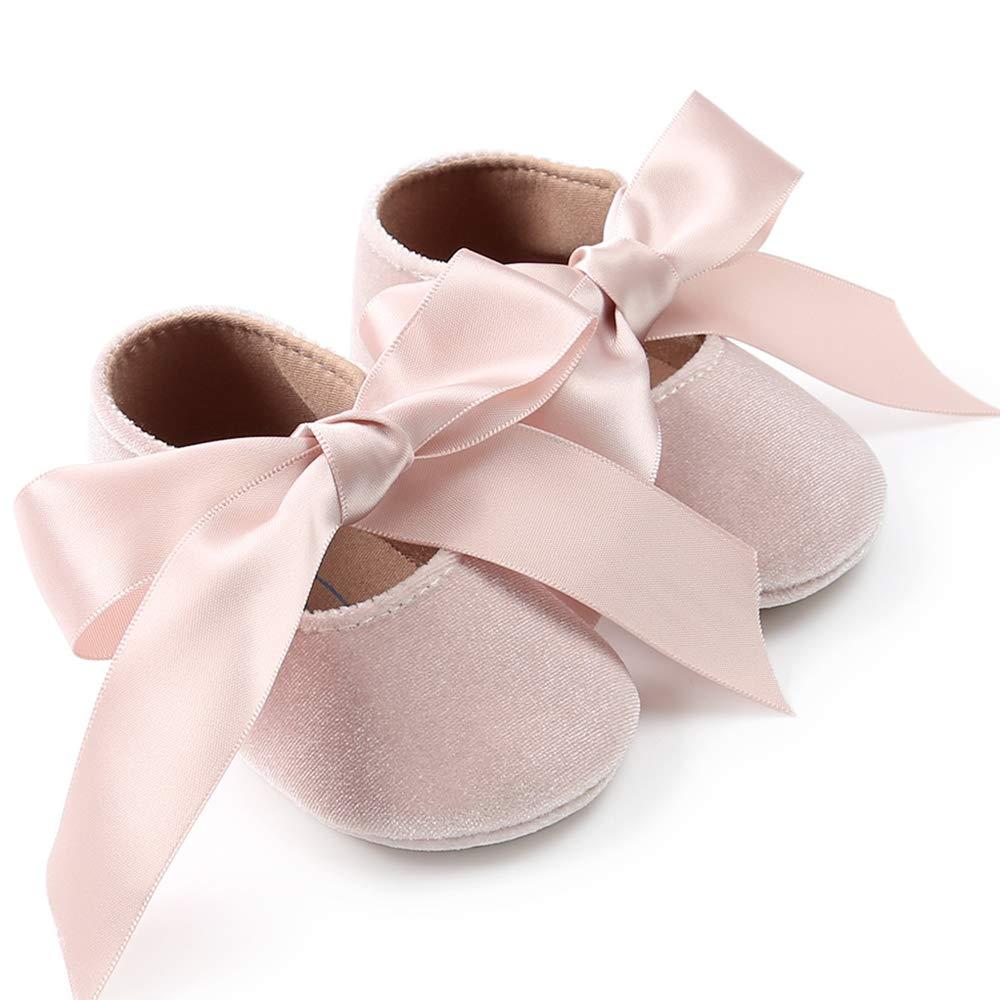 Amazon.com: BubbleColor - Zapatillas de ballet para bebé ...