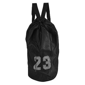 1facc2f2c3d Sports Ball Bag, Mesh Training Exercise Backpack Shoulder Drawstring Bag  for Basketball Football Soccer(