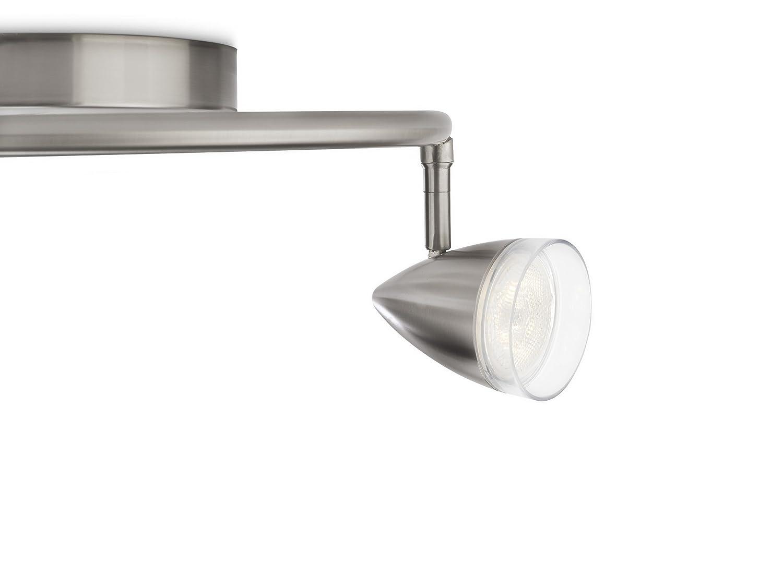 Philips MAPLE spot LED spiral luminaire dint/érieur M/étallique M/étal