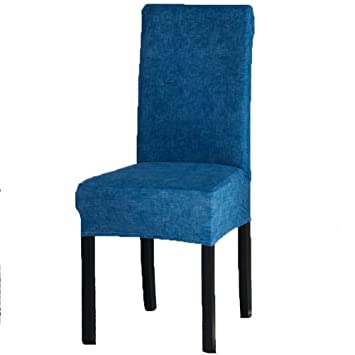amazon com dining room chair covers soft spandex seat protector rh amazon com Dining Room Chair Covers Target Kitchen Chair Covers Amazon