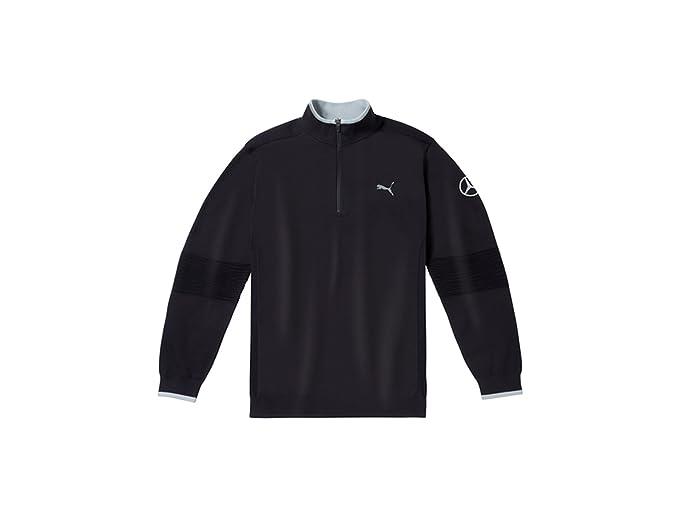 d07e1556c55d27 Mercedes-Benz Men's golf sweater black, S, PUMA: Amazon.co.uk: Clothing