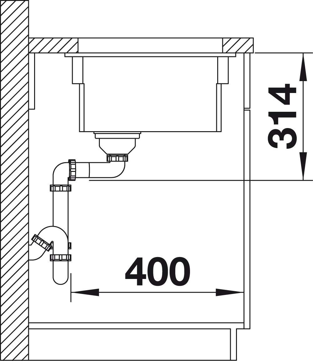 Piscina de cocina Etagon 524533