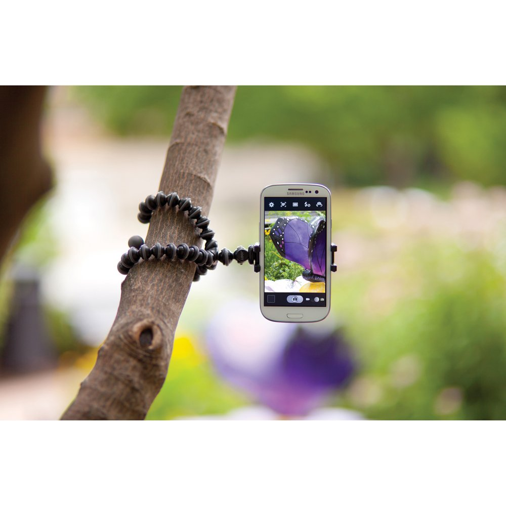 iPhone 7 and iPhone 8 JOBY GripTight GorillaPod Stand Flexible Universal Smartphone Stand for Small Smartphones including iPhone 6