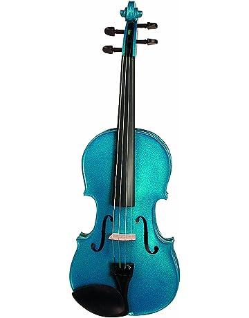 Stentor Harlequin conjunto de violín – azul 1/2 (Set ...