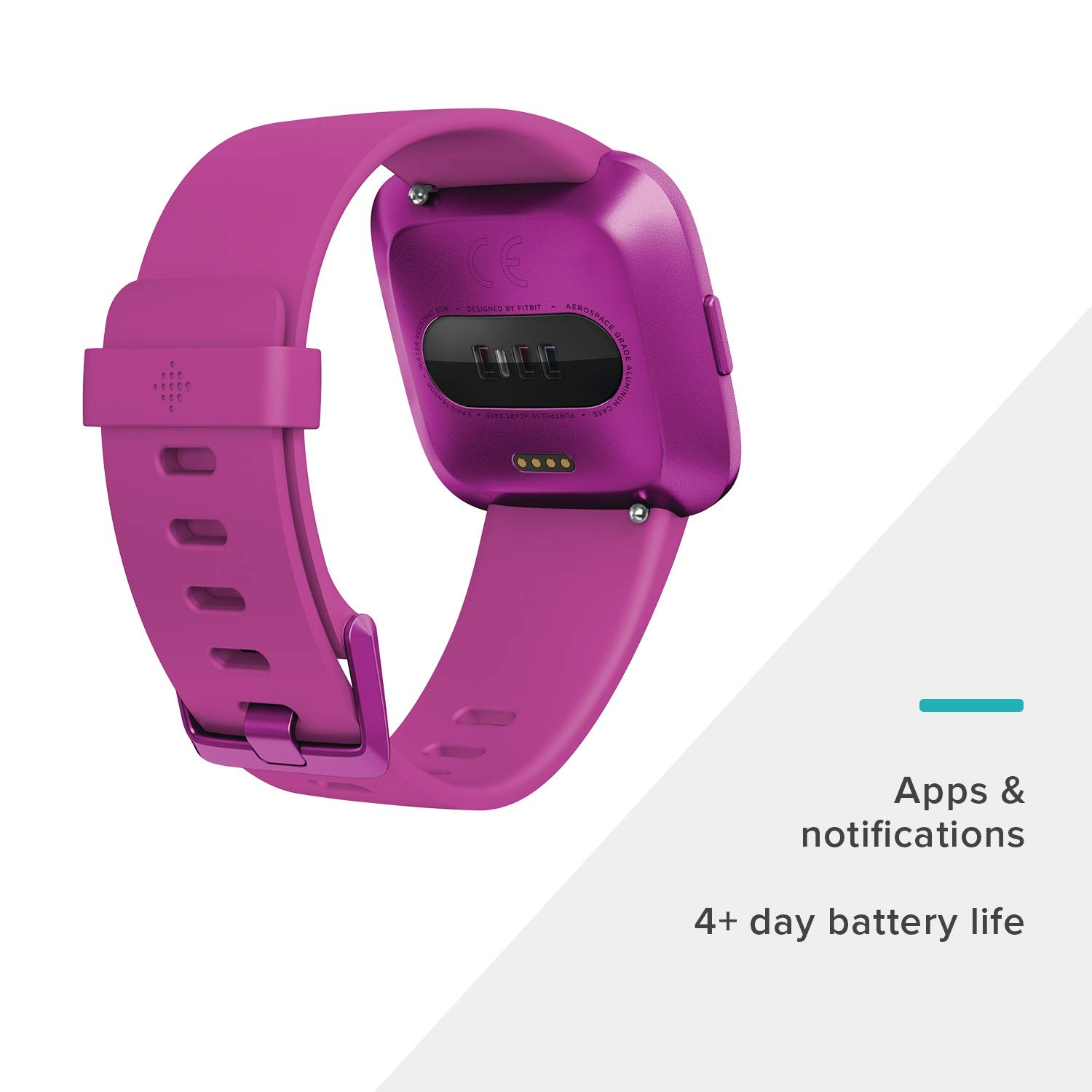 Fitbit Versa Lite Edition Smart Watch, One Size (S & L bands included), 1 Count by Fitbit (Image #3)