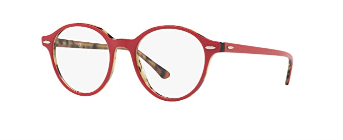 2a528a028b Image Unavailable. Image not available for. Color  Ray-Ban Dean RX7118 - 5714  Eyeglasses Bordeaux