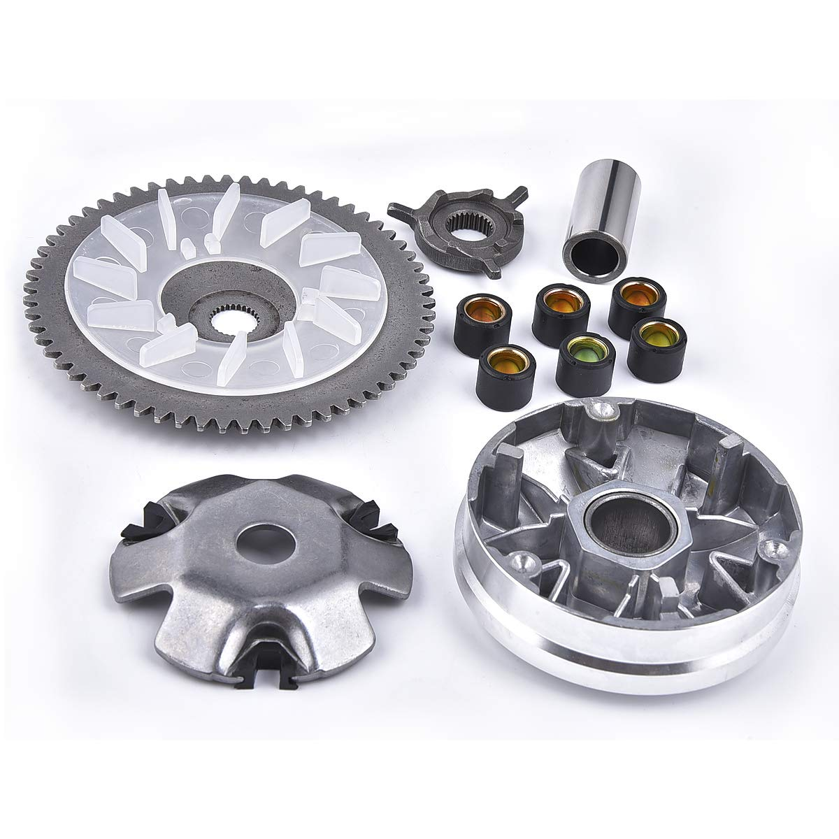 Primary Clutch Variator Kit for Kymco Agility People Like 4T 50cc 4 Stroke Scooter by MTATCN