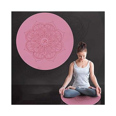 GMMMats Estera De La Meditación/Estera Redonda De La Yoga ...