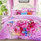 DHWM-Extra thick cotton mill with four piece, three dimensional reactive stamp is set, the couch is considered pure cotton wedding 4 piece ,2.0m