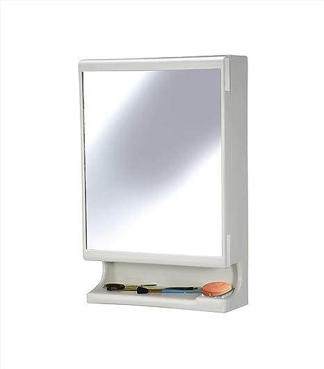 Ciplaplast New Look Plastic Multipurpose Cabinet, White