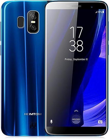 HOMTOM S7-4G Smartphone 5.5 Pulgadas Android 7.0 con 1.3GHz MTK6737 Procesador de Cuatro Núcleos