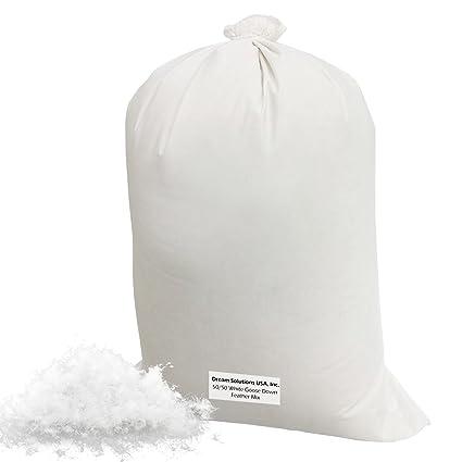 Amazon.com: Bulk relleno de plumón (3 Lb) 50/50, 100 ...