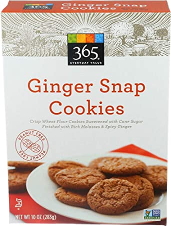 365 Everyday Value, Ginger Snap Cookies, 10 oz