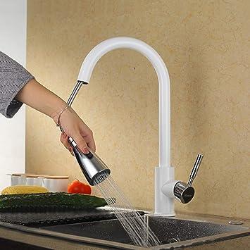 Küchenarmatur Ausziehbar mit Brause 360°Drehbar Wasserhahn Küche ...