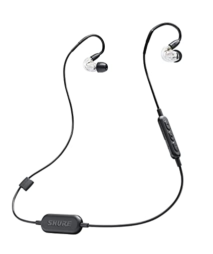 ef891365564 Amazon.com: Shure SE215-CL-BT1 Wireless Sound Isolating Earphones with  Bluetooth Enabled Communication Cable: Musical Instruments