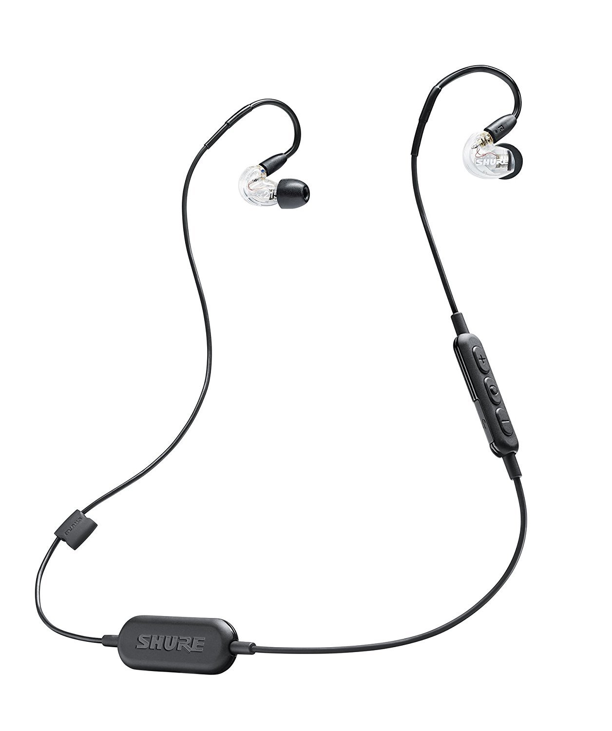 SHURE High Sound Insulation WIRELESS Earphone SE215 (CLEAR)【Japan Domestic genuine products】