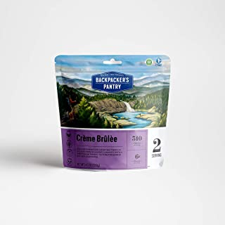 product image for Backpacker's Pantry Creme Brulee, 2 Servings Per Pouch, Freeze Dried Food, 7 Grams of Protein, Vegetarian, Gluten Free