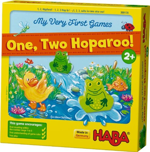 HABA My Very First Games - One Two Hoparoo! Counting Game (Made in Germany) by HABA