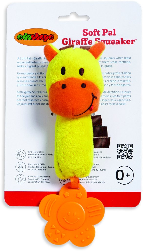Soft Pal - Giraffe Squeaker 24 pcs sku# 1916532MA