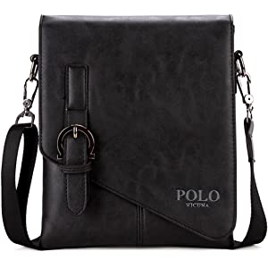 VICUNA POLO Shoulder Bag Business Man Bag Messenger Bag for Men ...