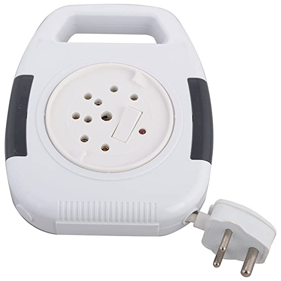 Anchor by Panasonic Cherry 5220 Plastic 3-Pin Flexicord (White) Extension Cords at amazon