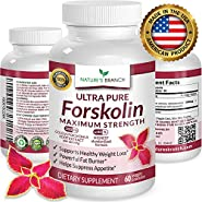 ? BEST 100% ULTRA PURE Forskolin Extract For Weight Loss ? MAXIMUM STRENGTH 40% Standardized HIGHEST POTENCY Fat Burner Fuel 60 Premium Belly Buster Coleus Forskohlli Root Extract Supplement Pills ?
