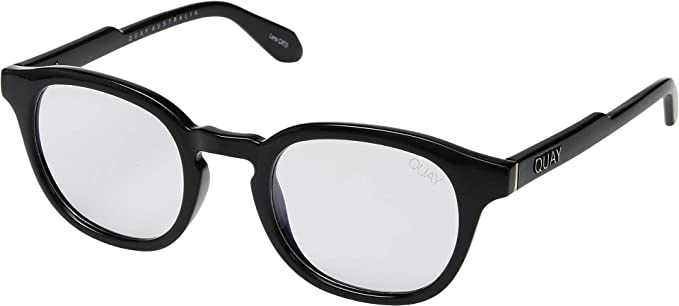 b8238e08adeb0 QUAY AUSTRALIA Unisex Walk On - Blue Light Glasses Black Clear Blue Light  One Size