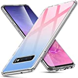 ESR Mimic Series Glass Case Compatible with Samsung Galaxy S10, 9H Tempered Glass Hybrid Cover [Mimics The Glass Back of…