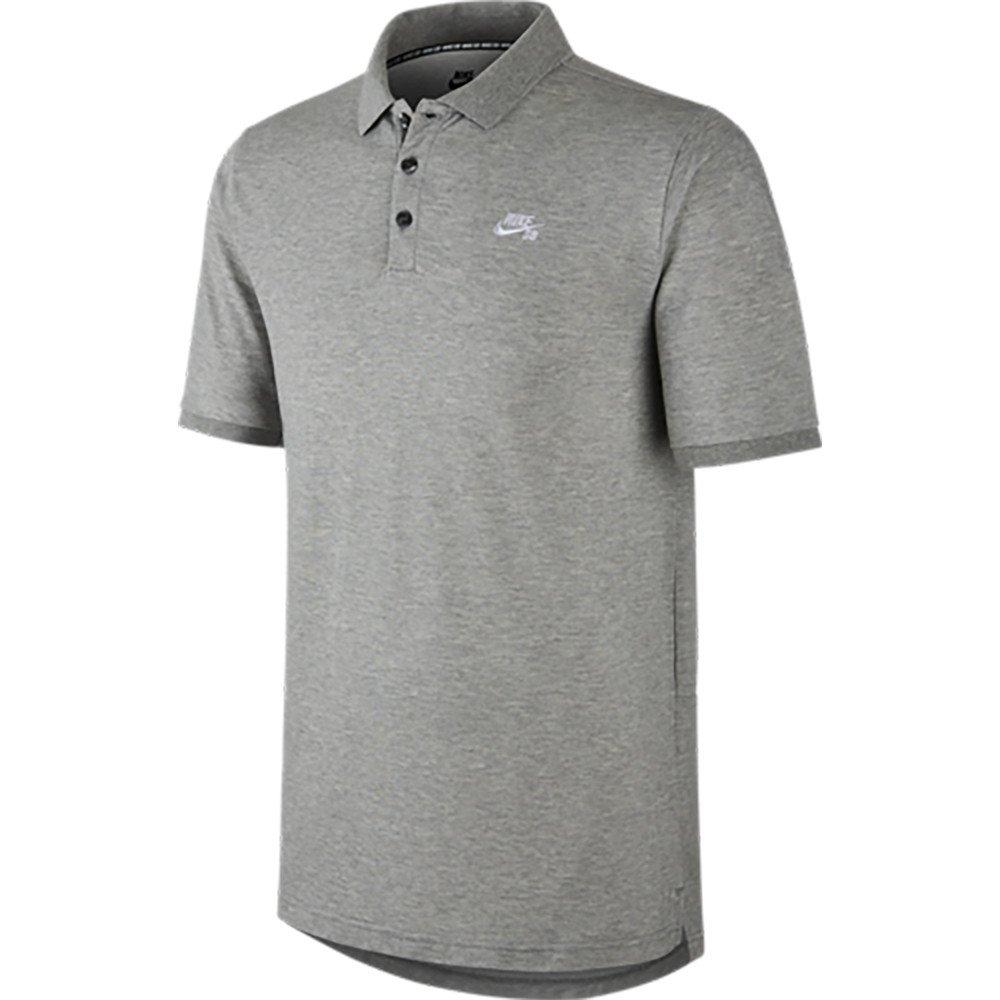 Nike Sb Mens Pique Dri Fit Polo Shirt Grey At Amazon Mens Clothing