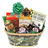 Golf Gift For Men with A Good Walk Ruined Book Plus Snacks comes Wrapped and Ready to Give by Gifts Fulfilled