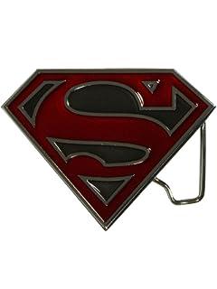 2475dadd7e88 Choppershop Superman avec Finition Argent et Noir en émail en métal ...