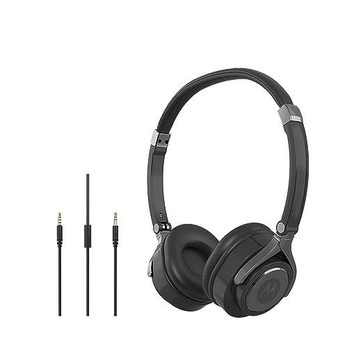 Motorola Pulse 2 G11ROW Wired Headphone  Black  On Ear Headphones