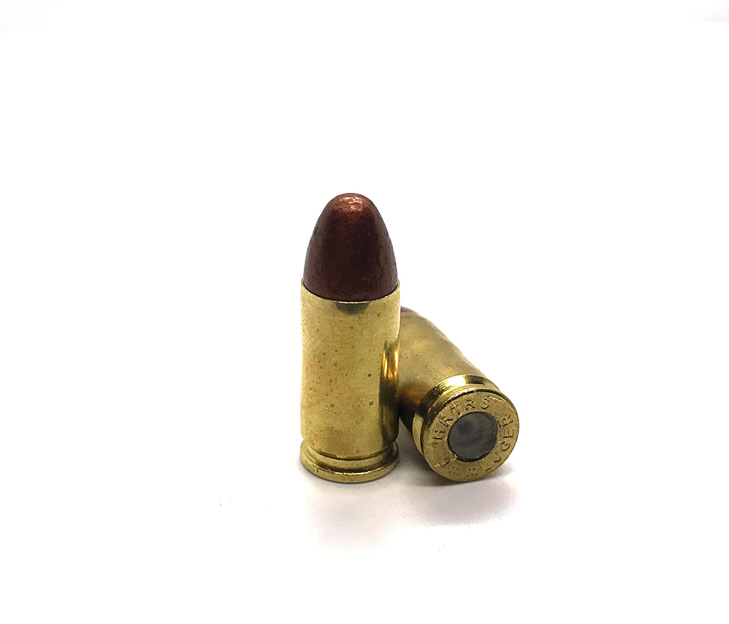 Premium Brass 9mm Snap Caps 9mm Luger Dummy Rounds (5 Pack)
