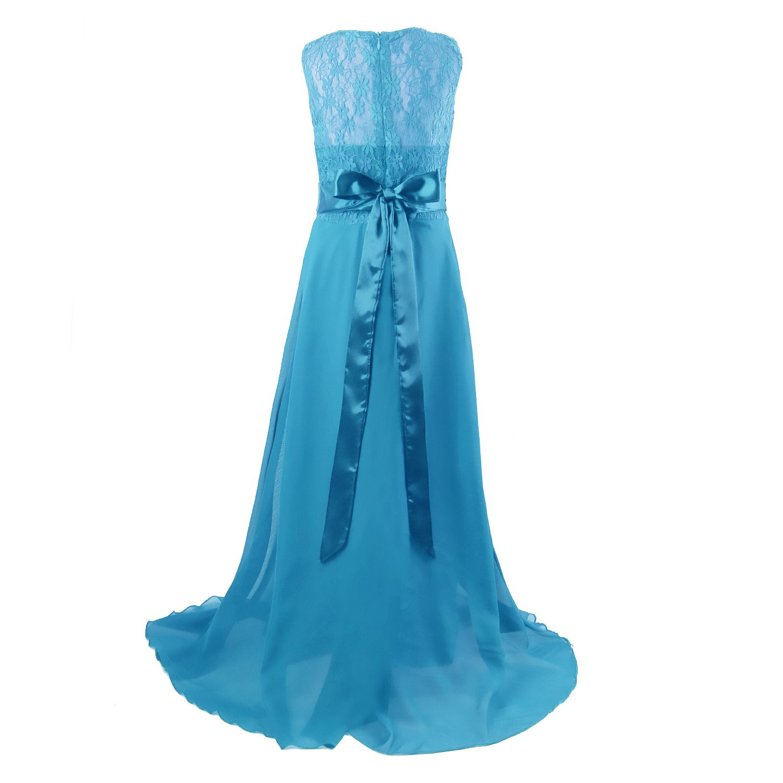 Amazon.com: Acecharming Junior Bridesmaid Dress, Girls\' Formal ...