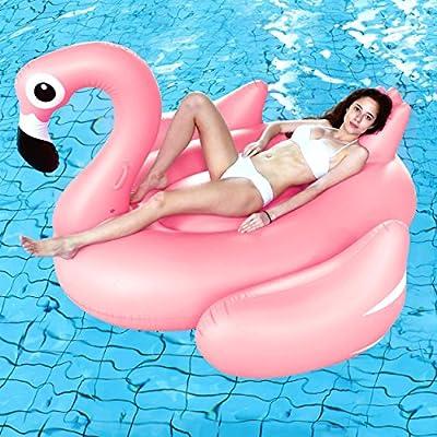 Splosh Gigante Flamenco Pool Lounger: Amazon.es: Juguetes y juegos