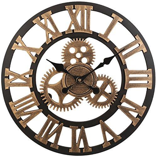 Vintage Clock European Handmade Decorative