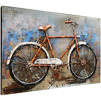 Beau Asmork 3D Metal Art   100% Handmade Metal Unique Wall Art   Stereograph Oil  Painting