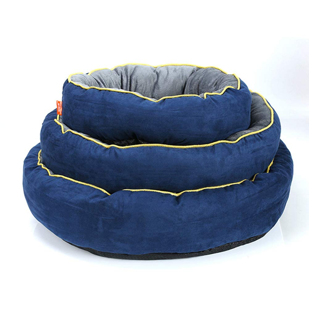 M QZX Pet Bed Dog Bed Soft Comfy Cat Dog Bed with Detachable Washable Dog Pet Warm Basket Bed Cushion for Cats and Small Medium Dogs