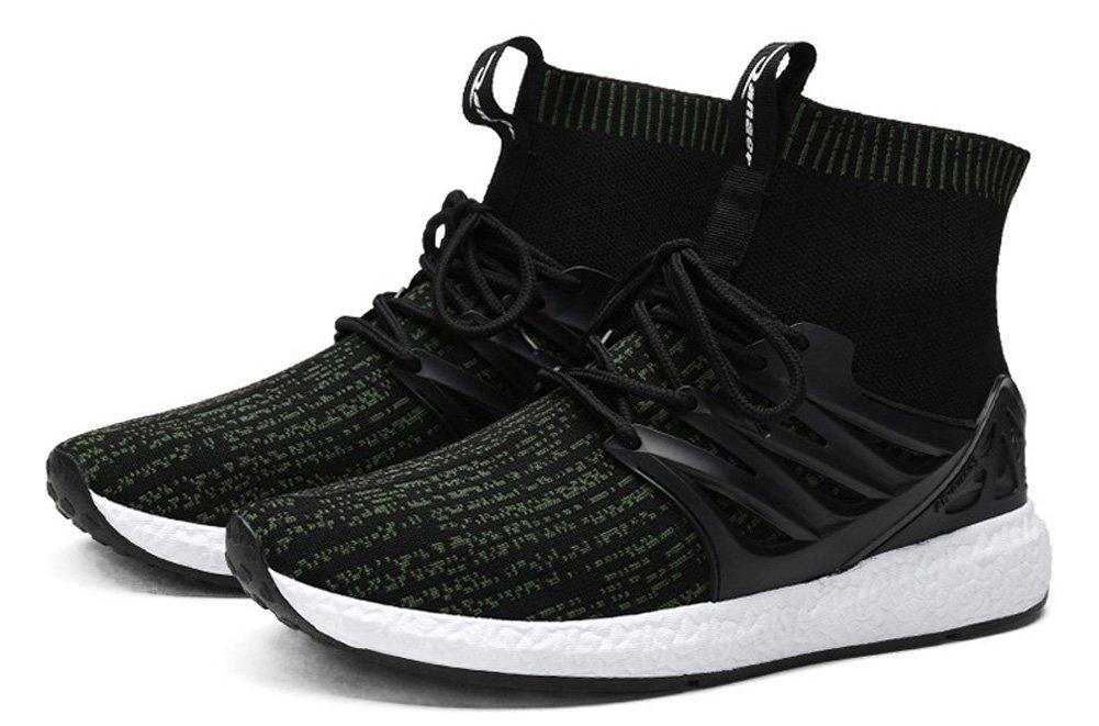 JiYe Men's Running Shoes Free Transform Flyknit Fashion Sneakers by B075SVW5TH 9.5US-Men/11US-Women|Khahi