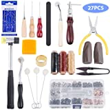 Anpro Leather Sewing Tools Kit- 27 Pieces Leather