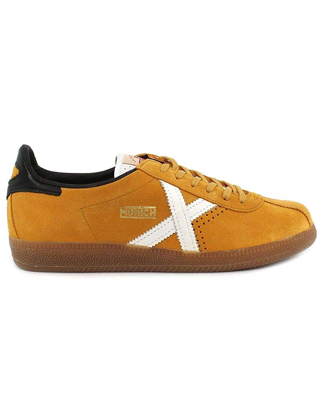 TALLA 41 EU. Zapatillas MUNICH BARRU 49 Mustard White