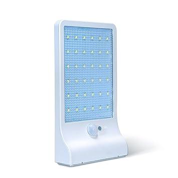Lámparas Solares 36 LEDs KINGTOP Focos Luz Paredes LED Iluminacion Exteriores Solar Impermeable Energía con Sensor