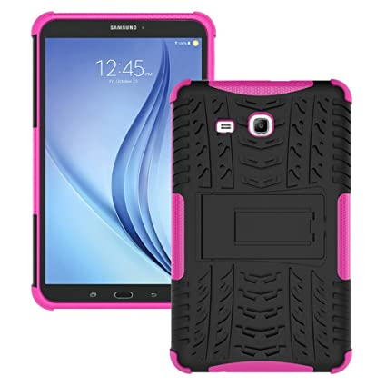 brand new 81ba6 8365c Amazon.com: Galaxy Tab E 9.6 Case, Galaxy Tab E 9.6 Cover, Dual ...