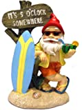 5:00 Somewhere Tropical Party Gnome Garden Statue