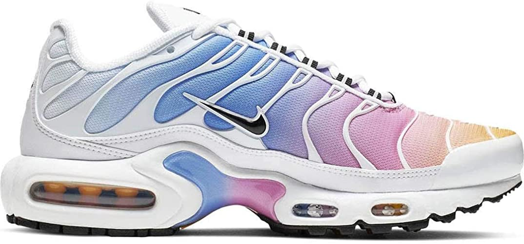 Amazon.com | Nike Women's Air Max Plus Fashion Sneakers (White